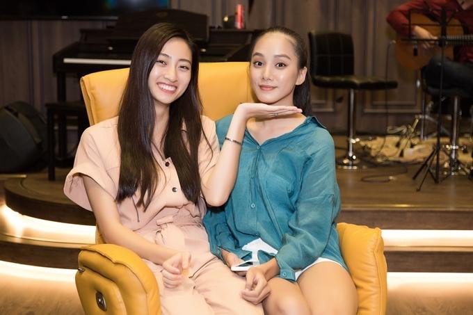 Top 10 Miss World Vietnam 2019 - Nguyễn Thị Bích Thùy có mối quan hệ thân thiết với Thùy Linh sau cuộc thi.