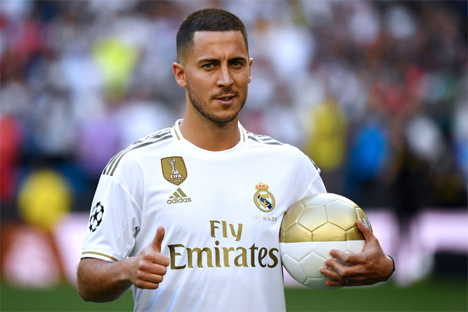 Hazard tìm được chỗ ở mới tại Madrid.