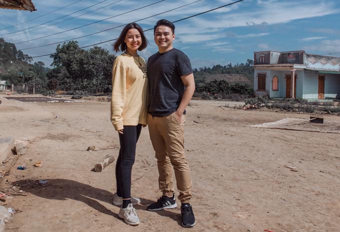 Lại Thanh Hương và bạn trai mới bằng tuổi cô.