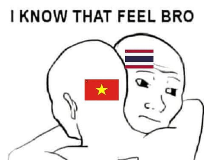 CĐV Thái Lan được dịp troll lạicác fanViệt Nam. Trước đó, không ít CĐV VIệt Nam vui sướng khi Thái Lan thất bại trước Campuchia.