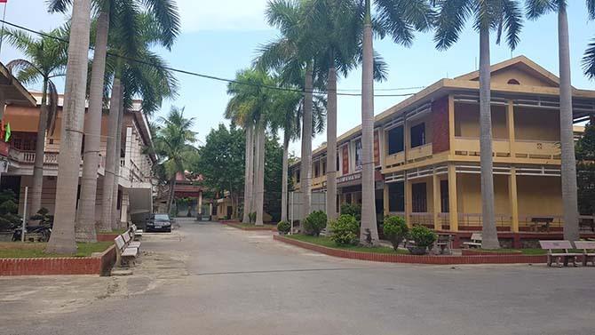 Trường THPT Dân tộc nội trú tỉnh Thanh Hoá, nơi để xảy ra sai sót.