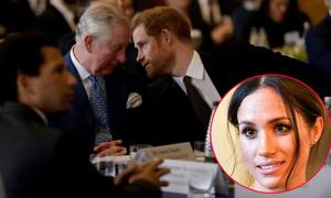 Cách Meghan giúp Harry cải thiện mối quan hệ với Thái tử Charles