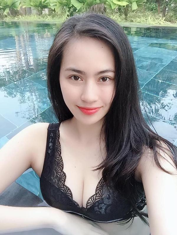Hot girl Nguyễn Thảo Mi - bạn gái tin đồn của Quang Hải. Ảnh: FBNV.