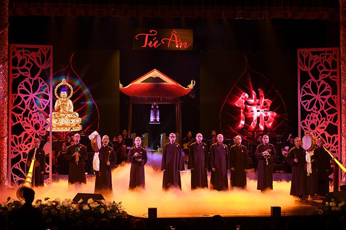 Chương trình có sự tham gia của một số tăng ni tụng chú đại bi và các nghệ sĩ khác như: NSƯT Đình Cương, ca sĩ Ngọc Ký, Minh Đức...