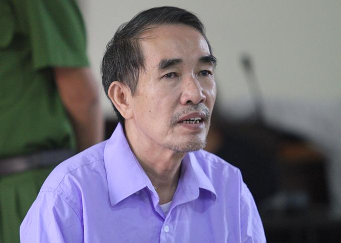 Bị cáo Lê Hải Châu tại tòa. Ảnh: Hùng Lê
