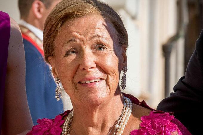 Công chúa Christina là dì của Vua Hà Lan, Willem-Alexander. Ảnh: UK Press.