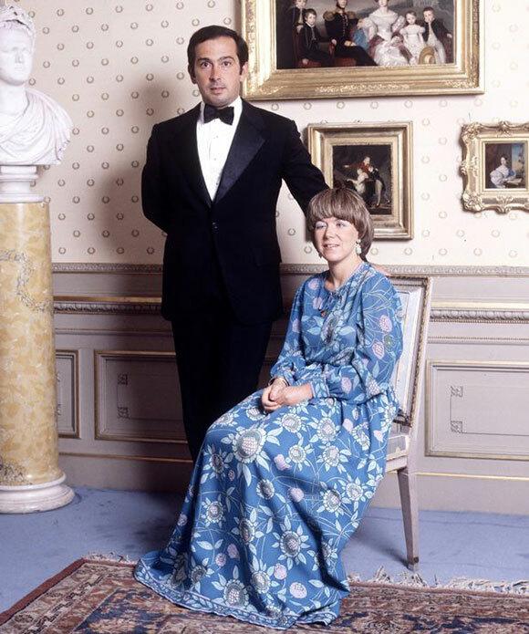 Công chúa Christina và chồng cũJorge Guillermo thời trẻ. Ảnh: Rex.