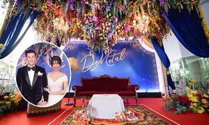 Tiệc cưới 'Dưới ánh sao trời' của nam thần Thái Lan Dome Pakorn