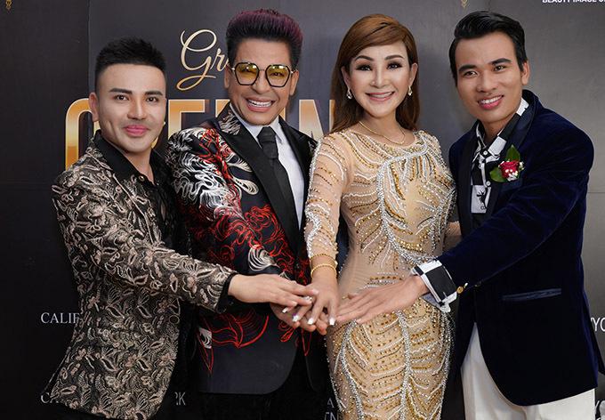 MC Thanh Bạch chúc Cát Tuyền kinh doanh thành công và không từ bỏ sân khấu ca nhạc.