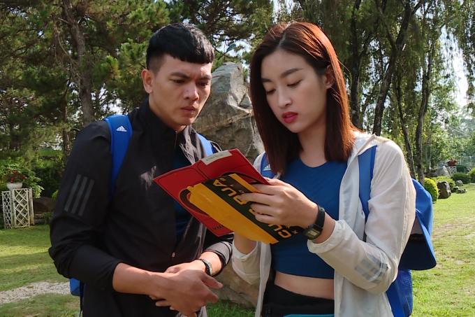 Thời gian qua, Mỹ Linh bị khán giả chỉ trích rằng cô không lăn xả hết mình trong chương trình và hầu hết thử thách đều do đồng đội Lê Xuân Tiền thực hiện.
