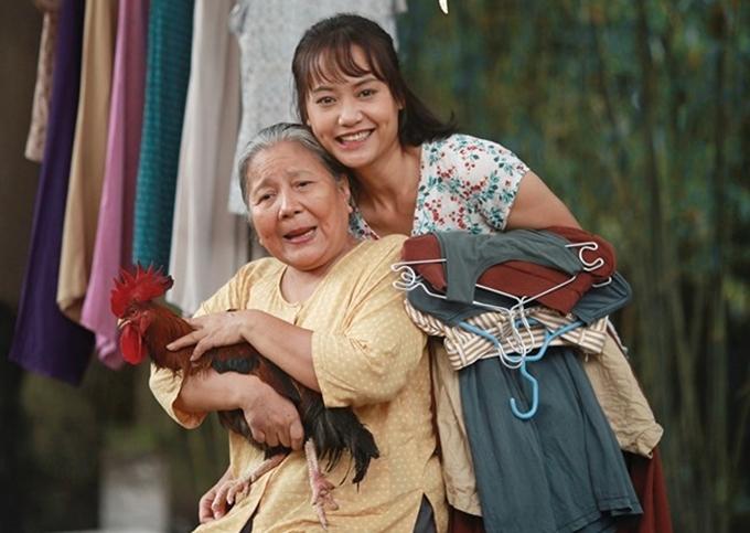 Bà nội Lê Thiện và cô Út Hồng Ánh thương nhau ngay cả khi chí chóe.