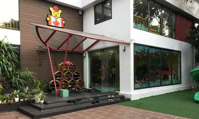 Maple Bear cơ sở Quảng Bá hiện có 50 học sinh.