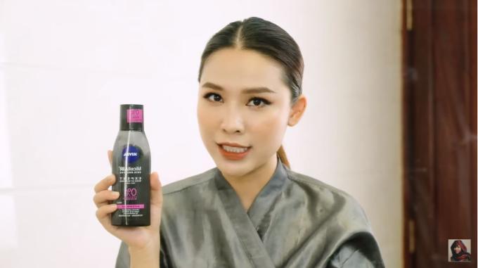Quách Ánh tiết lộ chiêu tẩy trang để da không cặn silicone - 1