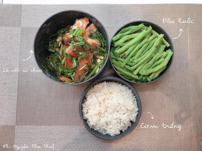 Chồng thích ăn cơm vợ nấu, trân trọng từng bữa cơm Thủychuẩn bịnên đây cũng là động lực để côcố gắng nấu món ngon mỗi ngày cho ạnh.