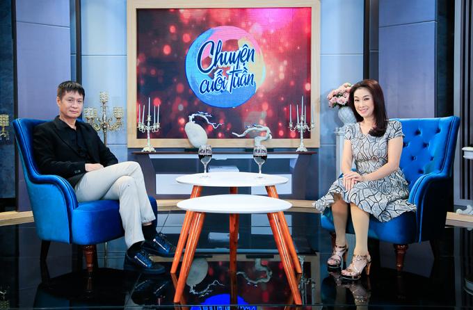 Mai Phượng có dịp trải lòng với đạo diễn Lê Hoàng khi tham gia talkshow Chuyện Cuối Tuần phát sóng lúc21h35 thứ Bảy ngày 17/8 trên kênh VTV9.