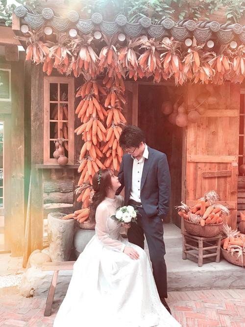 Cô dâu Việt tại Nhật dành 3 tháng tự may váy, làm thiệp cưới - page 2 - 1