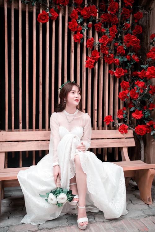 Cô dâu Việt tại Nhật dành 3 tháng tự may váy, làm thiệp cưới - page 2 - 3