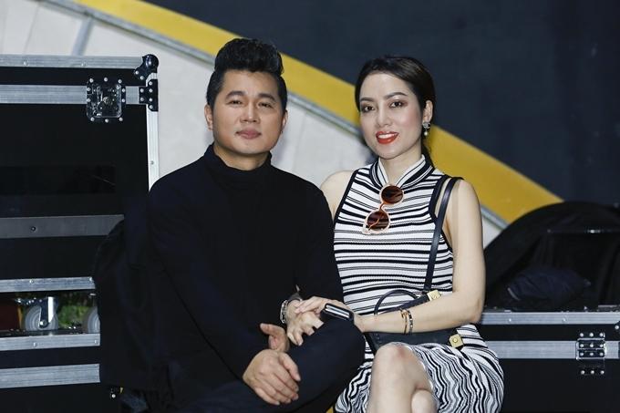 Tình cảm vợ chồng Lâm Vũ càng thêm khắng khít từ khi có con gái.