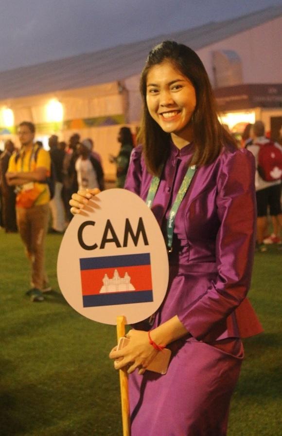 Năm 2016, cô nhận vinh dự là người cầm cờ cho đoàn thể thao Campuchia tại Olympics Rio. Dù sớm thất bạiở đấu trường quốc tế, việc Seavmey có suất dự Olympics đã là thành công với thể thao Campuchia.