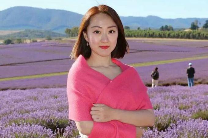 Nạn nhân Cui Yajie trước khi chết.