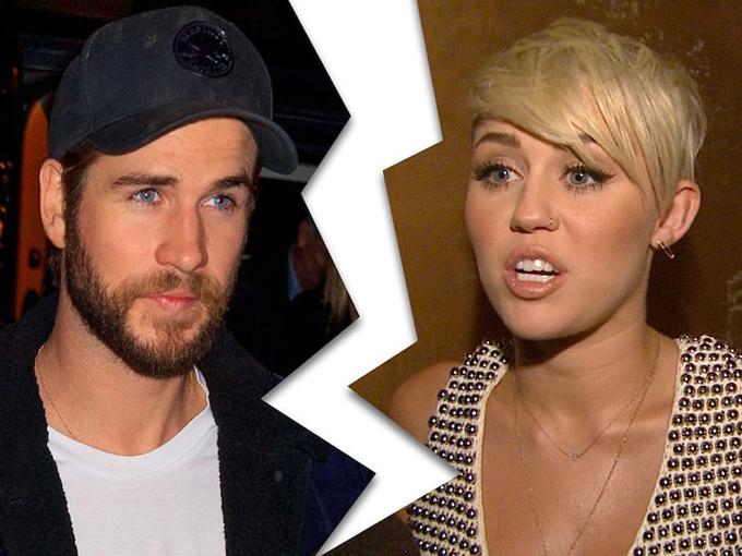 Liam chấm dứt hôn nhân với Miley.