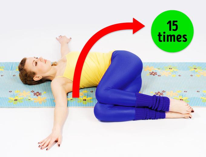 10 bài tập chữa gù lưng, cải thiện tư thế hiệu quả