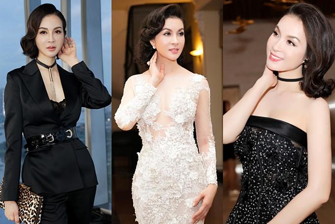 Là gương mặt nổi tiếng của showbiz, Thanh Mai thường góp mặt ở nhiều sự kiện thời trang lớn. Ở tuổi tứ tuần, cô không ngại thử nghiệm nhiều phong cách từ cá tính đến gợi cảm.