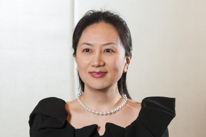 Bà Meng Wanzhou, con gái nhà sáng lập Huawei. Ảnh: SCMP.