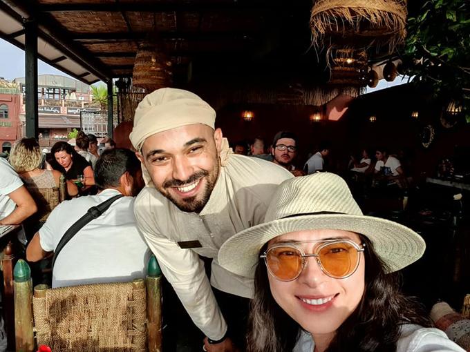 Ngô Thanh Vân đến thành phố đỏ huyền ảo ở Maroc - 10