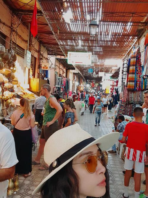 Ngô Thanh Vân đến thành phố đỏ huyền ảo ở Maroc - 4