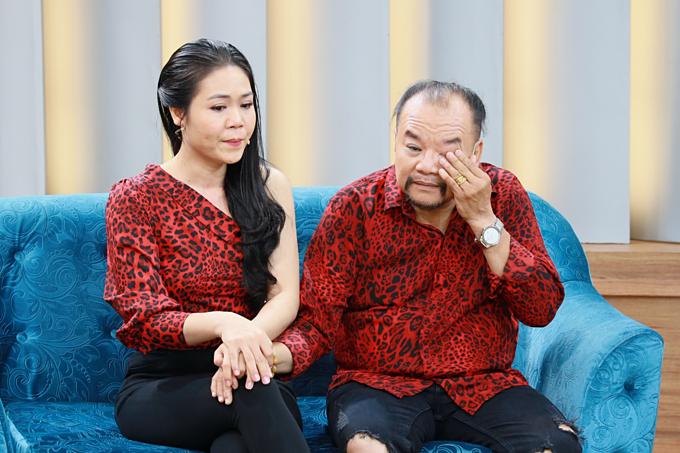 Tam Thanh - Ngọc Phú nhiều lần rơi nước mắt khi kể lại quãng thời gian sóng gió trong hôn nhân.