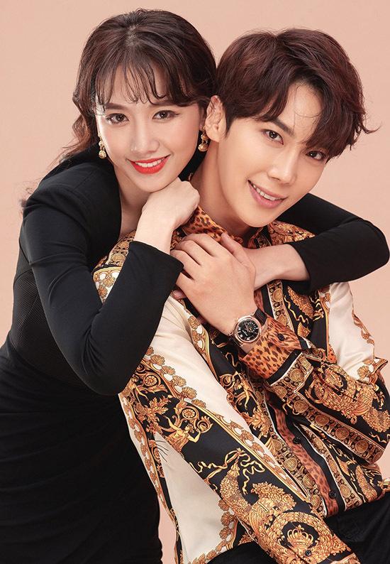 [Caption   Mới đây, Hari Won cùng ê-kíp khiến người hâm mộ