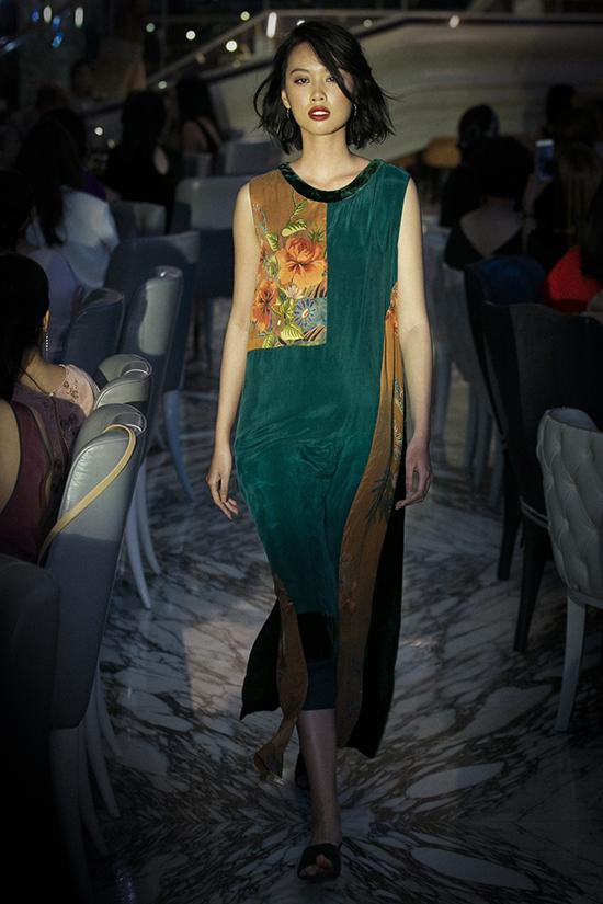 Đoan Trang cùng con gái diễn thời trang - 5