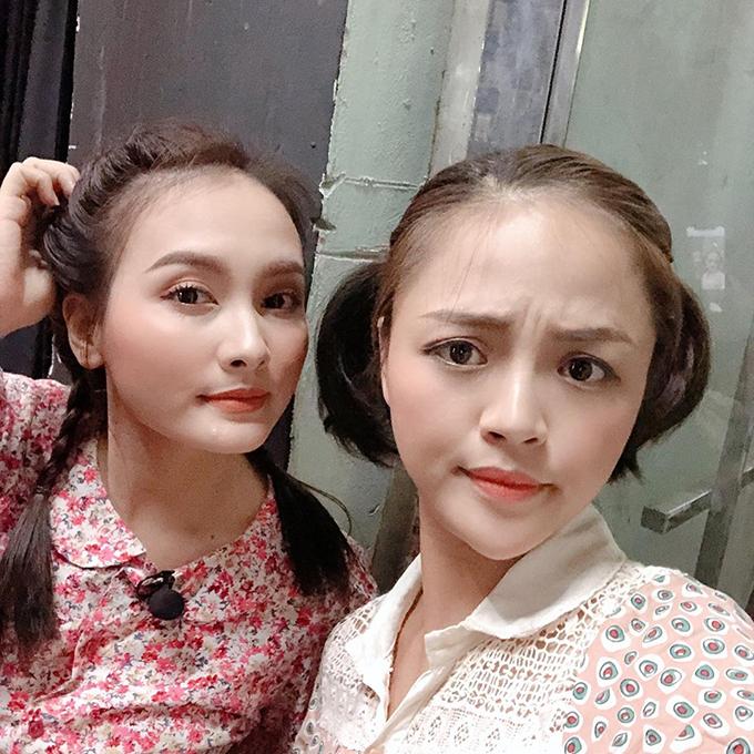 Thu Quỳnh và Bảo Thanh.