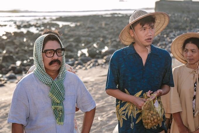 Đức Thịnh và Xuân Nghị là hai cây hài chính của phim.