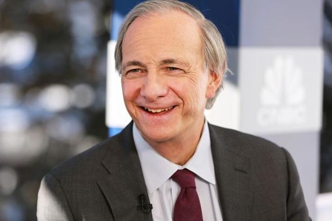 Tỷ phú Mỹ Ray Dalio, nhà sáng lập Bridgewater Associates. Ảnh: CNBC.