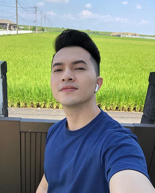 Qua Nhật chụp hình tưởng về miền Tây, ca sĩ Nam Cường bình luận về bức ảnh của mình.