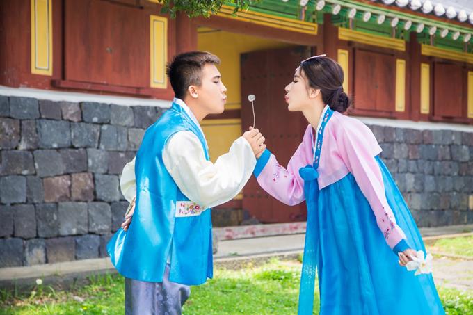 Em gái Ngọc Diễm năm nay 23 tuổi, làm kinh doanh. Cô và ông xã Thanh Lâm là bạn thanh mai, trúc mã từ thời còn đi học. Tình yêu của cặp đôi được hai bên gia đình ủng hộ, vun vén nhiều năm nay.