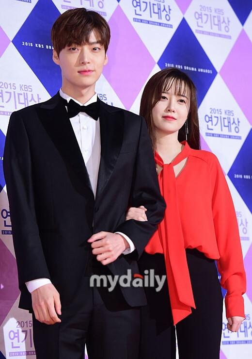 Vợ chồng Goo Hye Sun khi còn chung sống mặn nồng.