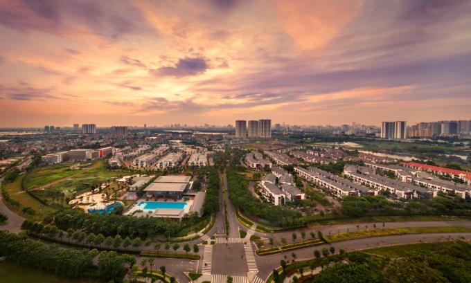Khu đô thị xanh Gamuda Gardens, Hoàng Mai, Hà Nội.