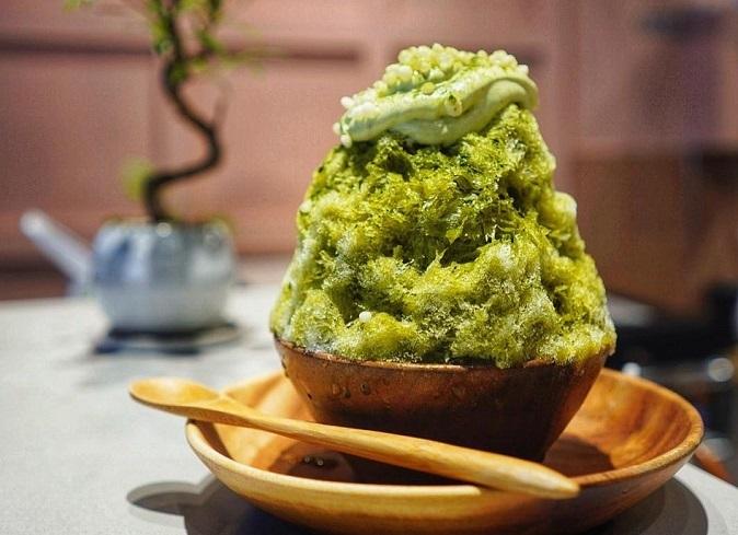 Kakigori là món giải khát quen thuộc vào mùa hè ở Nhật Bản.