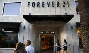 Hãng thời trang giá rẻ Forever 21 xin phá sản