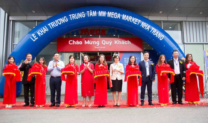 Lễ khai trương MM Mega Market Nha Trang.