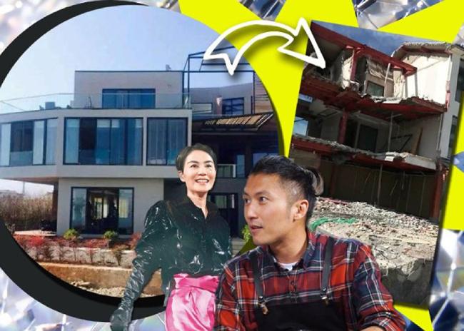 Tổ ấm tình yêu của Phong - Phi ở Vân Nam đã bị dỡ bỏ.