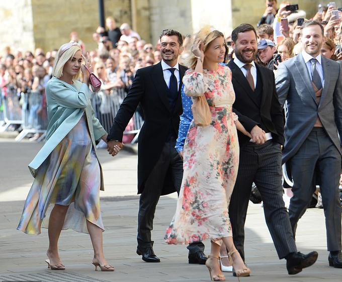 Katy và Orlando cùng nhiều ngôi sao tới chúc mừng Ellie Goulding kết hôn với doanh nhânCaspar Jopling.