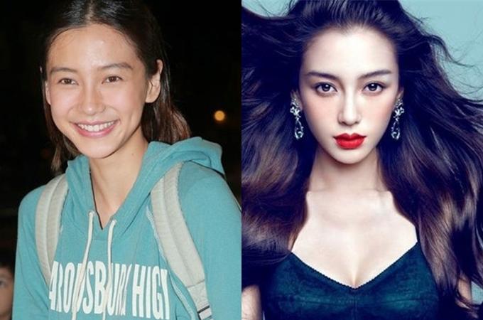 Mỹ nhân châu Á trước và sau trang điểm