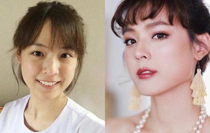 Mỹ nhân châu Á trước và sau trang điểm - 9
