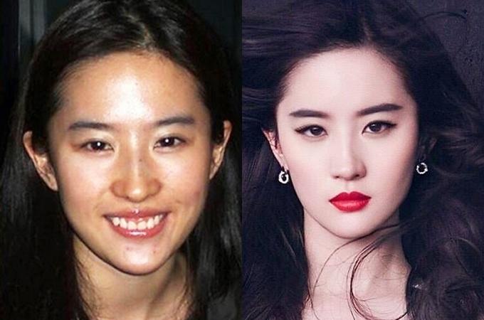 Mỹ nhân châu Á trước và sau trang điểm - 4