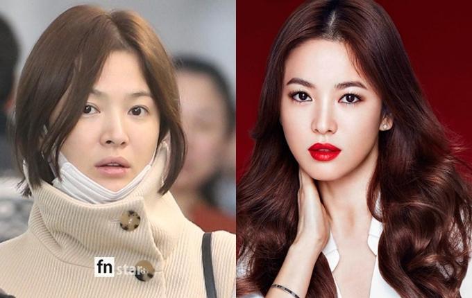 Mỹ nhân châu Á trước và sau trang điểm - 6