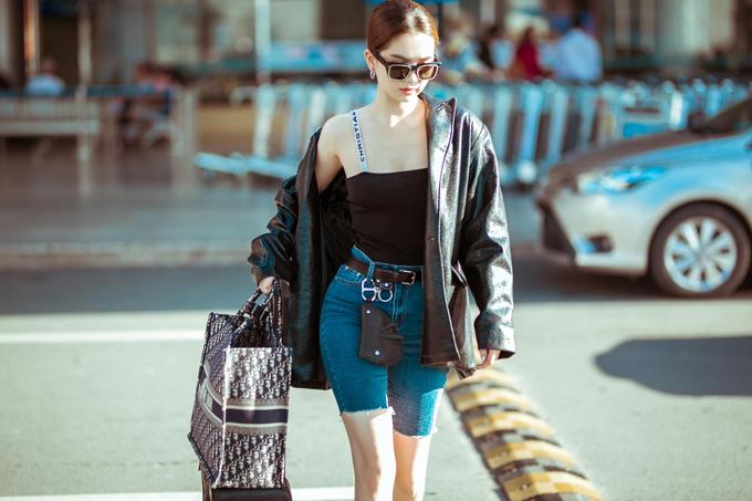 Sao Việt phối đồ với hai mẫu túi hợp trend - 7